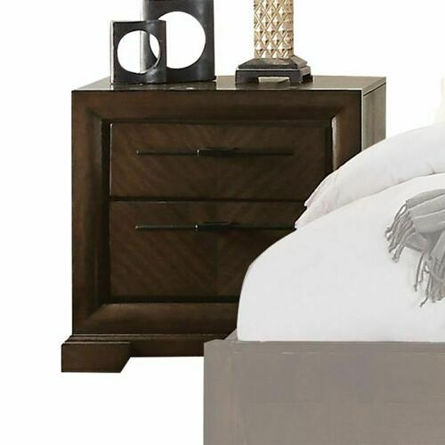 ACME Selma Nightstand - 24093 - Tobacco