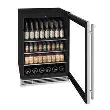 "See Details - Hbv024 24"" Beverage Center With Stainless Frame Finish (115 V/60 Hz Volts /60 Hz Hz)"