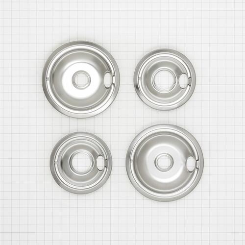 Round Electric Range Burner Drip Bowls