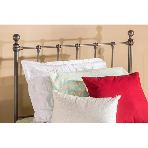 Molly Twin Bed Set - Black Steel