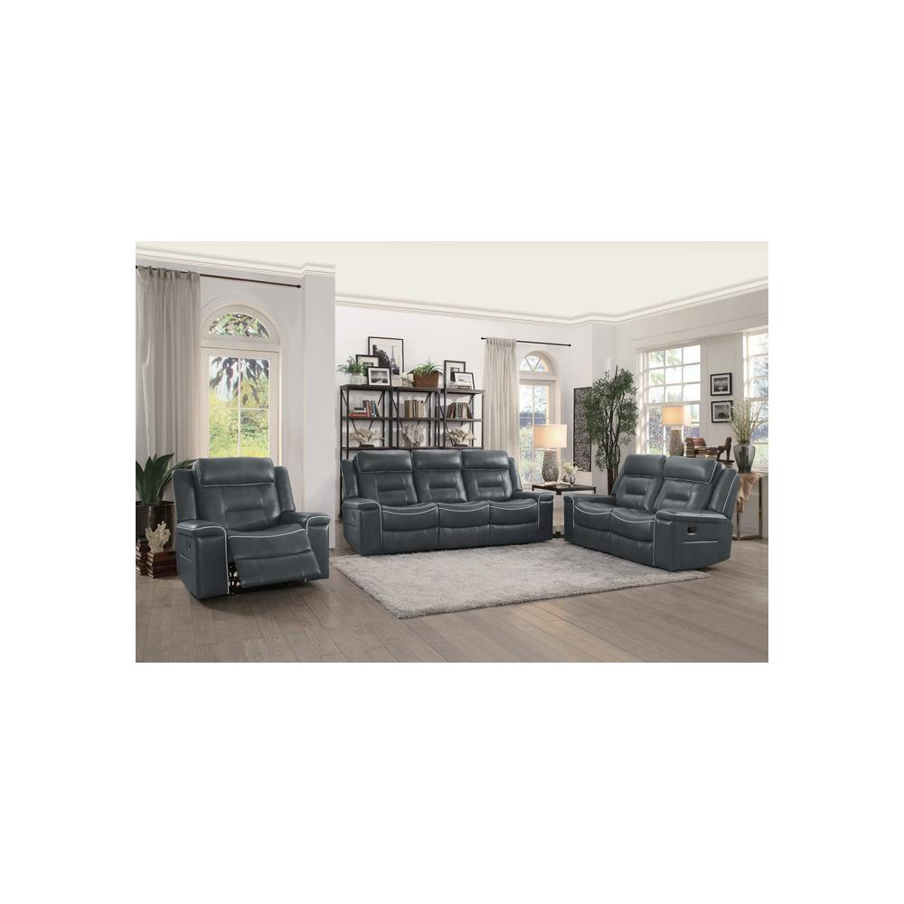 Double Lay Flat Reclining Sofa