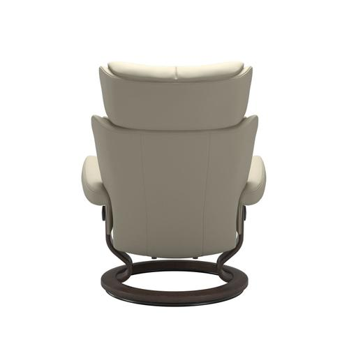 Stressless By Ekornes - Stressless® Magic (M) Classic chair with footstool