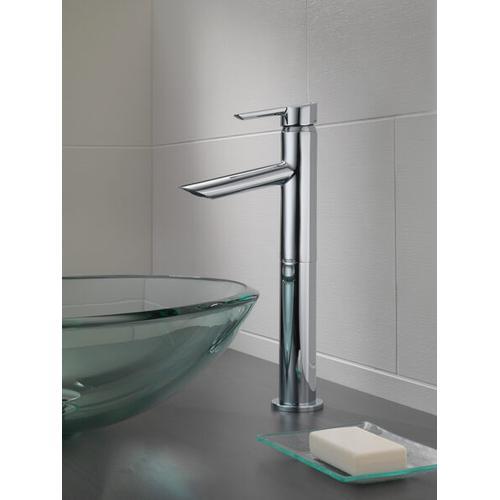 Chrome Single Handle Vessel Bathroom Faucet