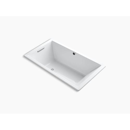 "Dune 66"" X 36"" Drop-in Bath With Bask Heated Surface and Reversible Drain"