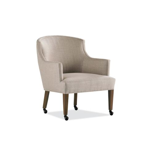 988-C AMY GAME CHAIR W/CASTERS