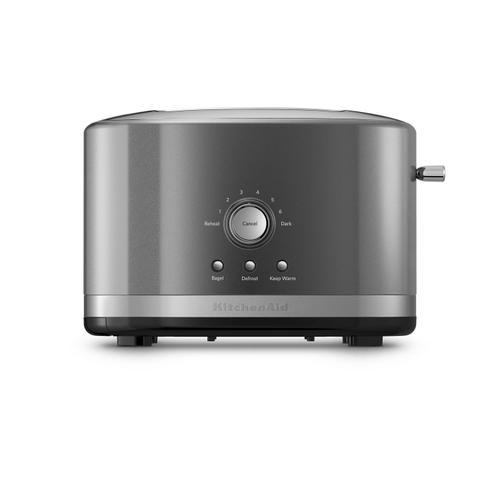 KitchenAid - 2-Slice Toaster with High Lift Lever Liquid Graphite