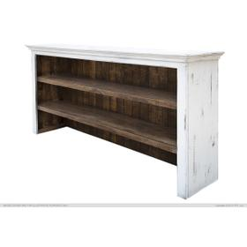 See Details - Hutch for Console, White finish