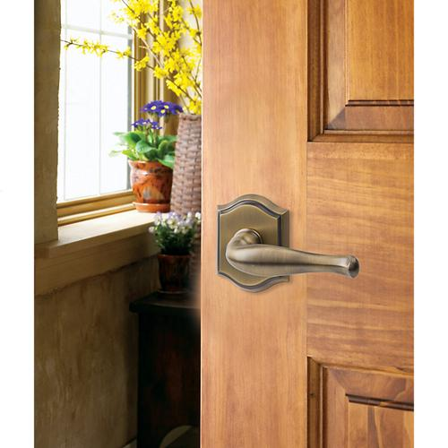 Matte Brass & Black Decorative Reserve Lever