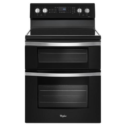 Product Image - 6.7 Cu. Ft. Electric Double Oven Range with True Convection