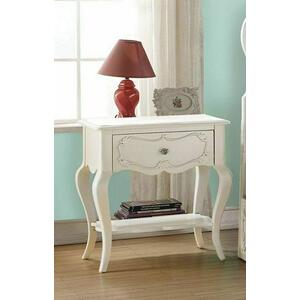 ACME Edalene Nightstand - 30509 - Pearl White