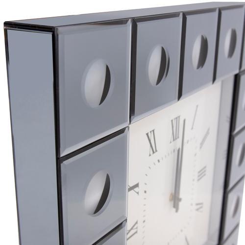Howard Elliott - Grigio Mirrored Wall Clock