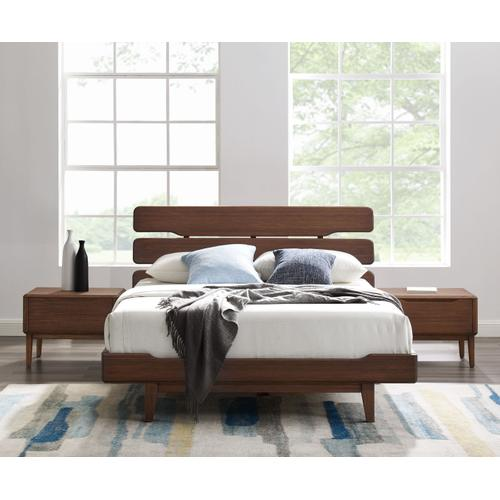 Product Image - Currant California King Platform Bed, Oiled Walnut