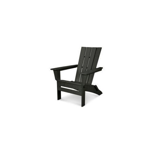 Polywood Furnishings - Quattro Folding Adirondack in Black
