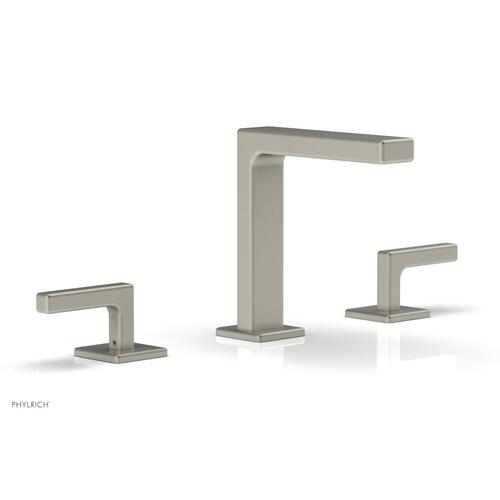 """MIX Widespread Faucet - Lever Handles 6-3/4"""" Height 290-02 - Burnished Nickel"""