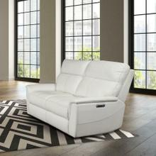 View Product - REED - PURE WHITE Power Loveseat