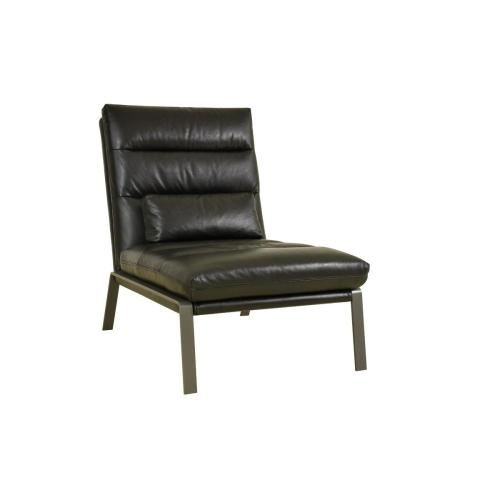 Perry Accent Chair Black