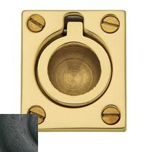 View Product - Distressed Oil-Rubbed Bronze Flush Ring Pull