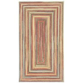 Americana Lt. Gold Braided Rugs