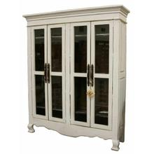 See Details - Weathered White Armoire 15w Inside