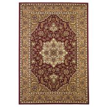 "Cambridge 7326 Red/beige Kashan Medallion 5'3"" X 7'7"""