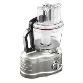 Pro Line® Series 16-Cup Food Processor with Die Cast Metal Base and Commercial-Style Dicing Kit Sugar Pearl Silver