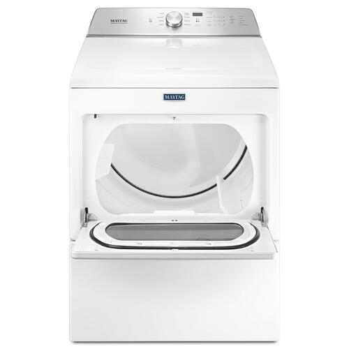 Large Capacity Gas Dryer with IntelliDry® Sensor - 7.4 cu. ft. White