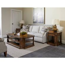 See Details - Thoroughbred Grand Lamp Table Rectangular - Toast