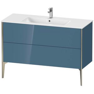 Vanity Unit Floorstanding, Stone Blue High Gloss (lacquer)