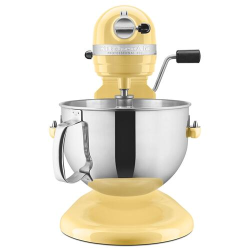 KitchenAid - Professional 600™ Series 6 Quart Bowl-Lift Stand Mixer Majestic Yellow