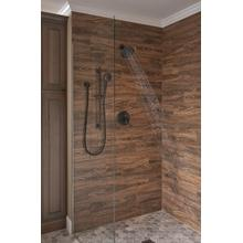 Venetian Bronze Premium 3-Setting Slide Bar Hand Shower