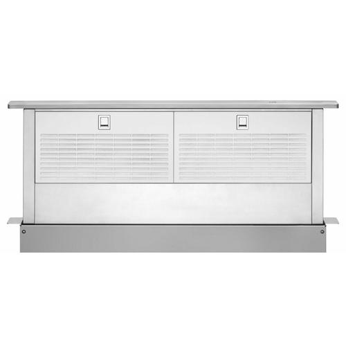 "36"" Retractable Downdraft System with Interior Blower Motor - Stainless Steel"