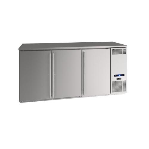 "U-Line - 72"" Back Bar Refrigeration With Stainless Solid Finish (115 V/60 Hz Volts /60 Hz Hz)"