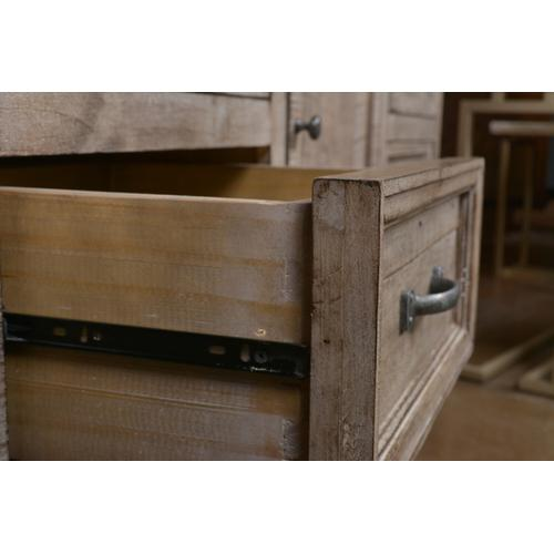Horizon Home Furniture - Urban Rustic Gray Dresser and Mirror
