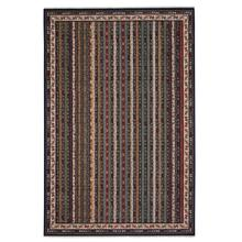 Tribute-Bazaar Indigo Multi Machine Woven Rugs