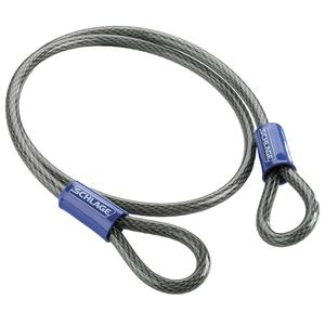 """Double Loop Cable  4' x 3/8"""" Steel Cable - No Finish Product Image"""