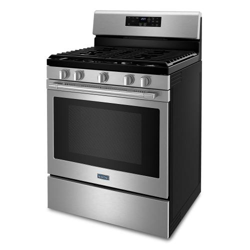 Maytag - Gas Range with Air Fryer and Basket - 5.0 cu. ft.
