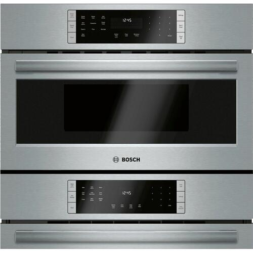 800 Series 800 Series, 30'' Combo, SS, Spd Oven, HC 30'' Stainless Steel HBL8753UC