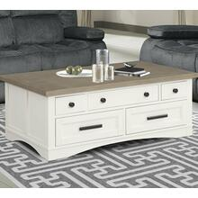 View Product - AMERICANA MODERN - COTTON Cocktail Table with Lift Top