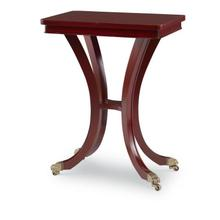 View Product - Georgian Olive Ash Chairside Table