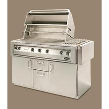 """See Details - Vintage 56"""" Luxury Gas Grill - Cart Model"""