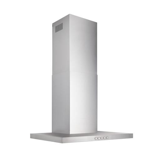 Product Image - Broan® 30-Inch Convertible Wall-Mount T-Style Chimney Range Hood, 450 MAX CFM, Stainless Steel
