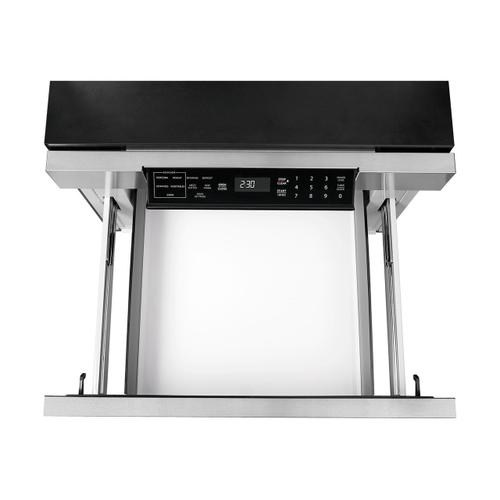 Sharp - 24 in. 1.2 cu. ft. 950W Sharp Stainless Steel Microwave Drawer Oven