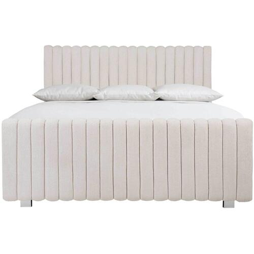 Queen Silhouette Panel Bed