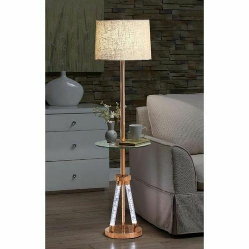 ACME Cici Floor Lamp - 40126 - Rose Gold