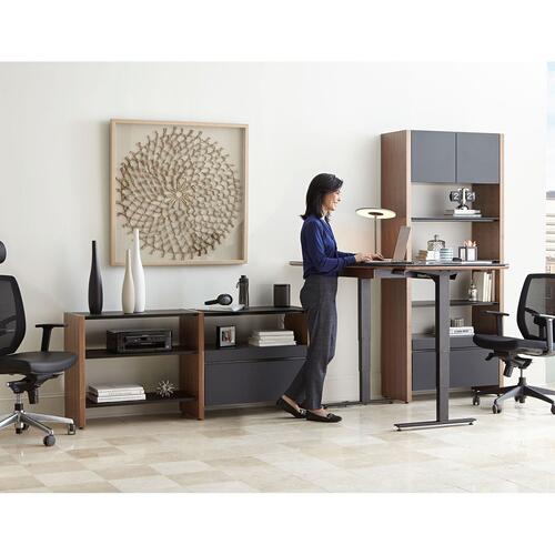 BDI Furniture - ™ 5464-LD in Chocolate Stained Walnut Black