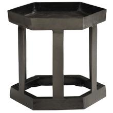 Benson Hexagon Chairside Table