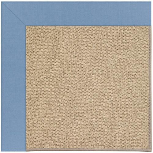 "Creative Concepts-Cane Wicker Canvas Air Blue - Rectangle - 24"" x 36"""