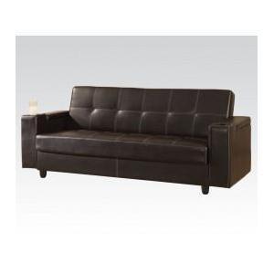Acme Furniture Inc - Brown Pu Adjustable Sofa