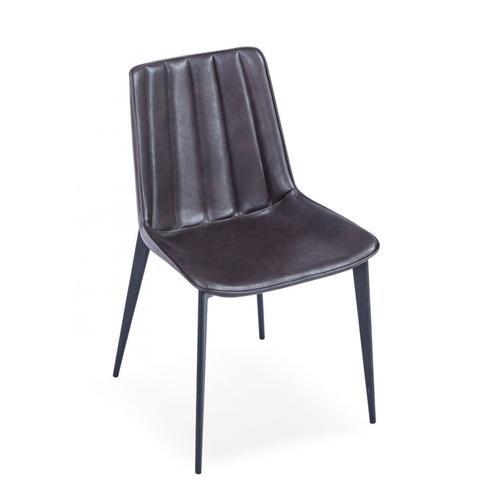 VIG Furniture - Modrest Peoria - Modern Brown & Black Dining Chair (Set of 2)