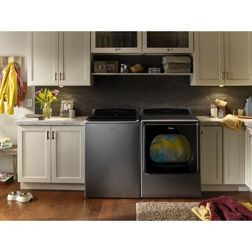 Whirlpool - 5.3 cu.ft Smart Top Load Washer with Remote Control